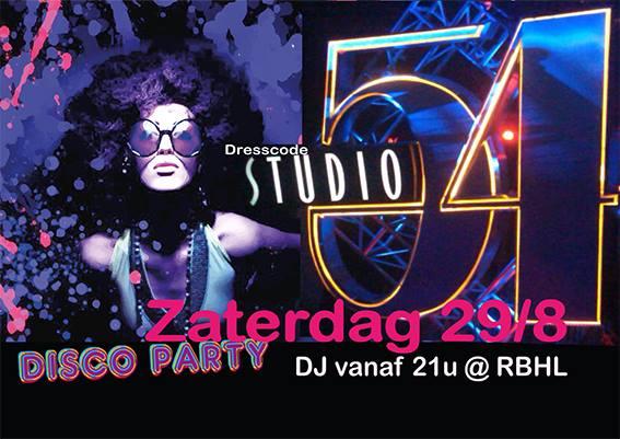 disco party regenbooghuis  2015