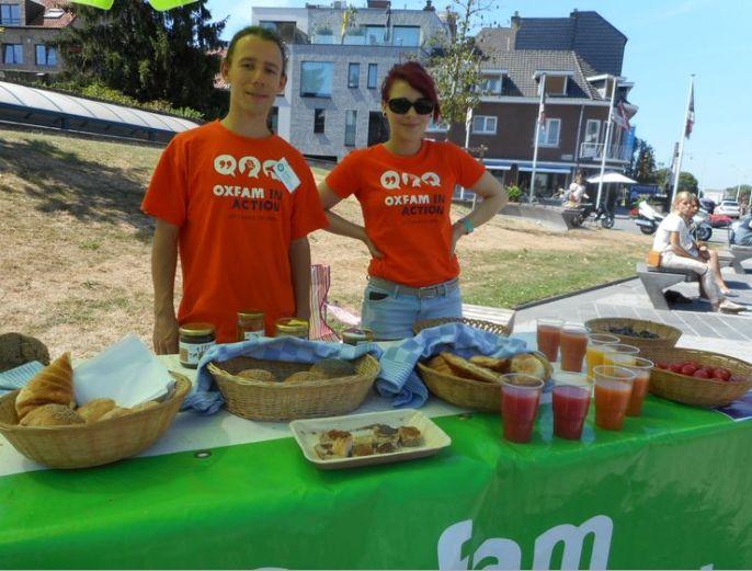 oxfam jongeren hasselt in action picknick
