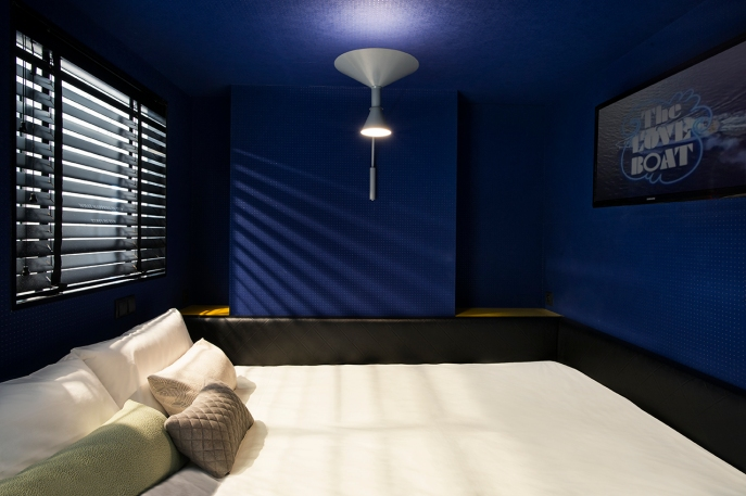 yup hotel cocoonbed