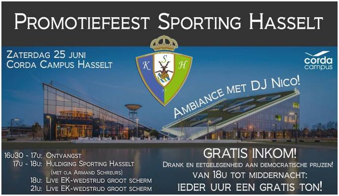 sporting promotiefeest