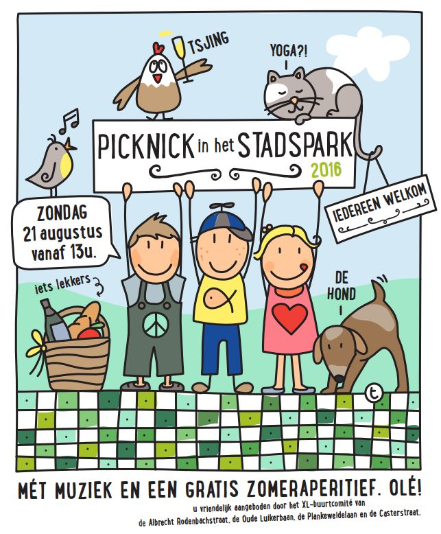 picknick stadspark 2016 1